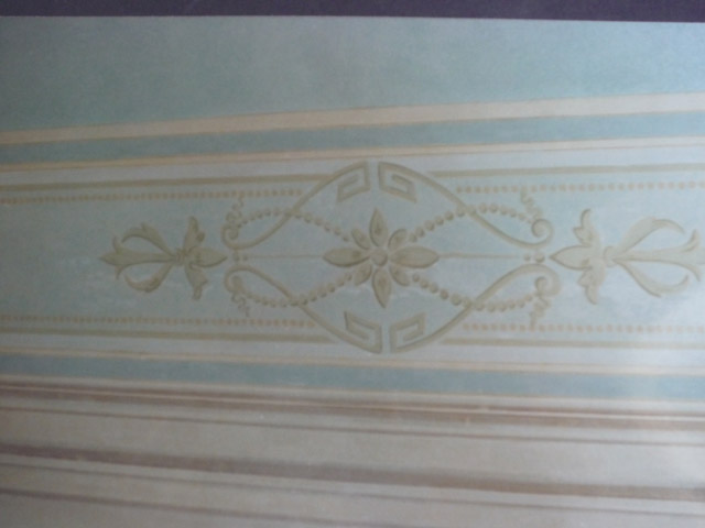 Fascia decorativa soffitto a Roma