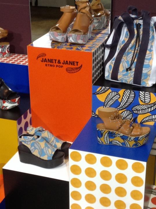 Collezione ETNO-POP per JANET & JANET