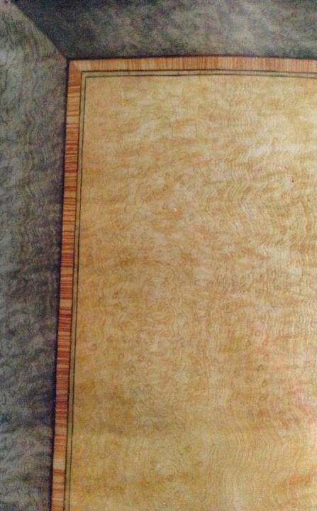 Finto legno-Quercia e Tuja