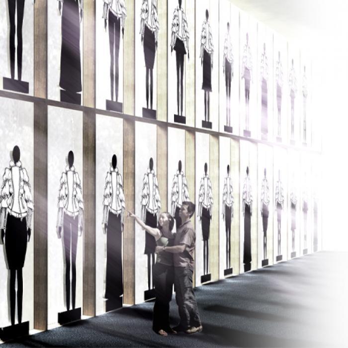 JANET & JANET - V.Tortona, Milano - Progetto LAP ARCHITETTI - Realizzato con Francesca Plevani