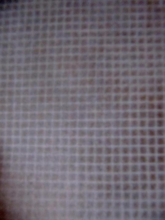 Parete scale in tela argento brunito e effetto rete