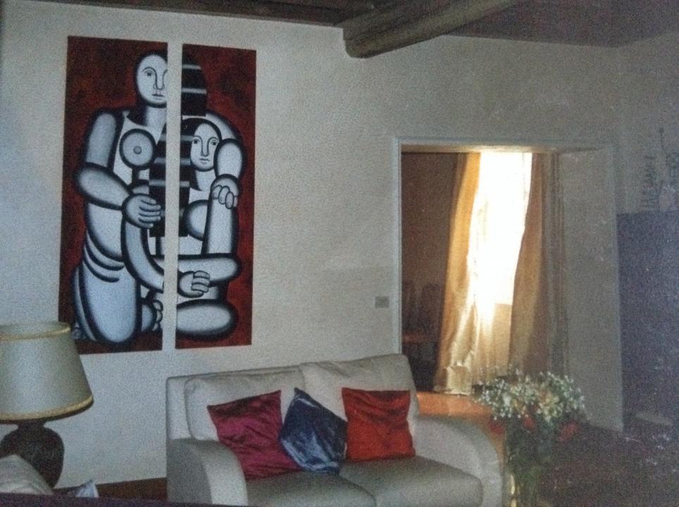 Quadri ispirazione Leger per una casa romana
