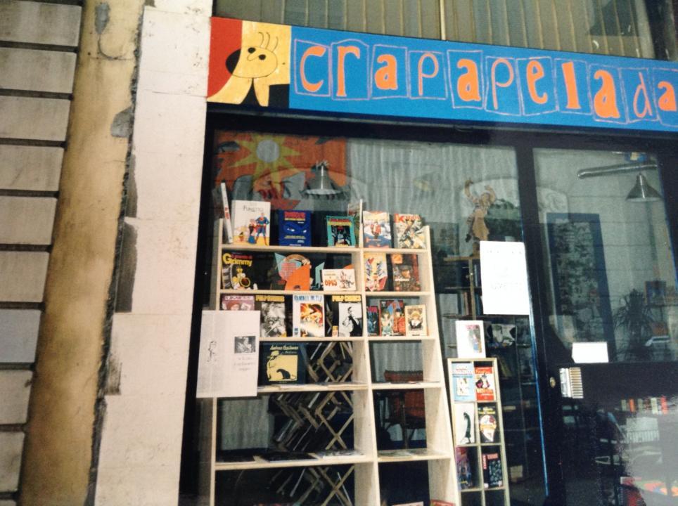 Insegna per un negozio a Milano