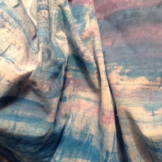 Garza di lino con decori fatti a mano per tovaglie,tende,cuscini