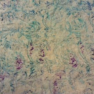 Garza di lino con decori fatti a mano per tovaglie,parei,cuscini