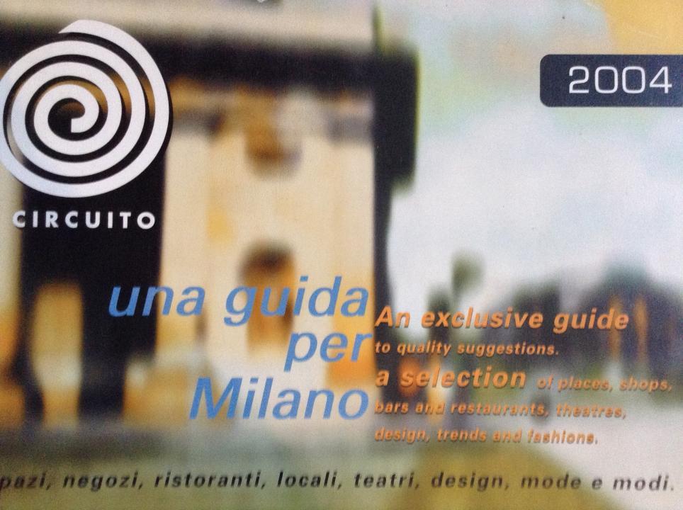 Guida ai negozi milanesi -CIRCUITO -2004